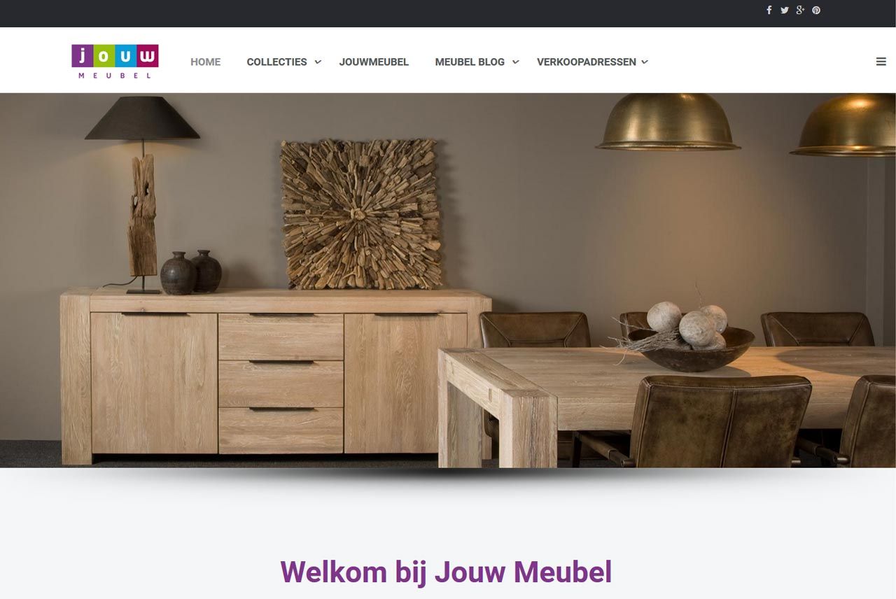 website Jouw Meubel